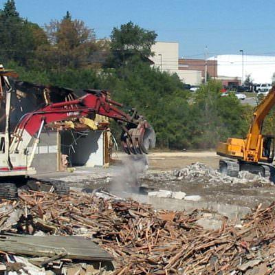 Lumber Yard Demolition