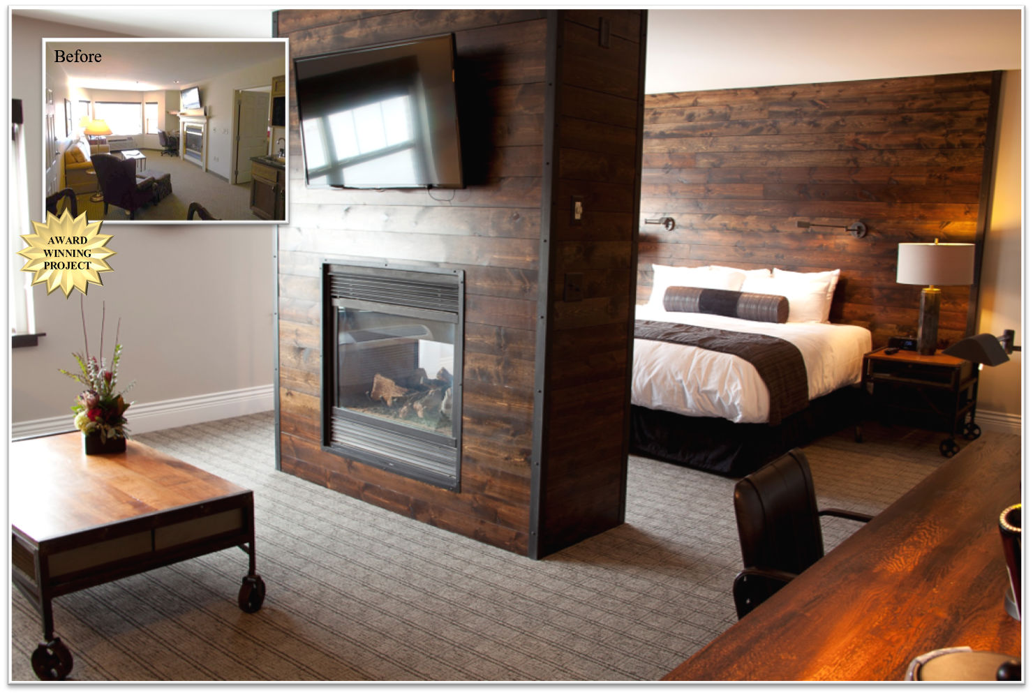 Ironworks Hotel – Hotel Room