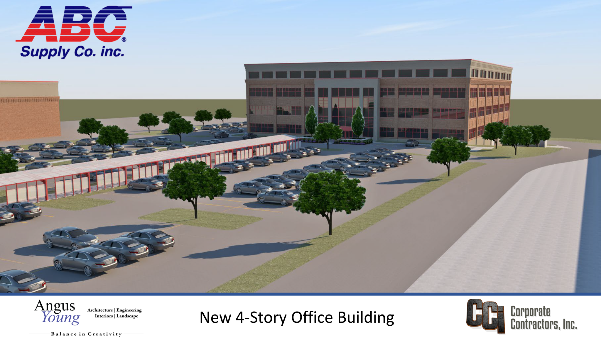 CCI to construct 4-story office building for ABC Supply