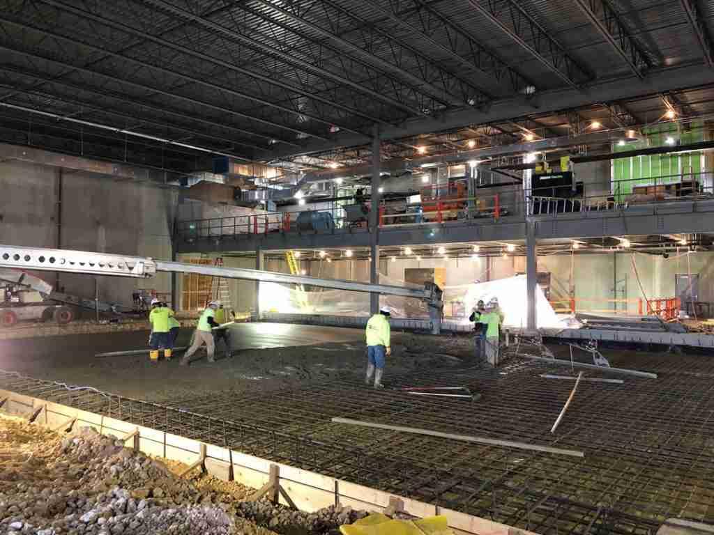 CCI crews work on NorthStar's expansion