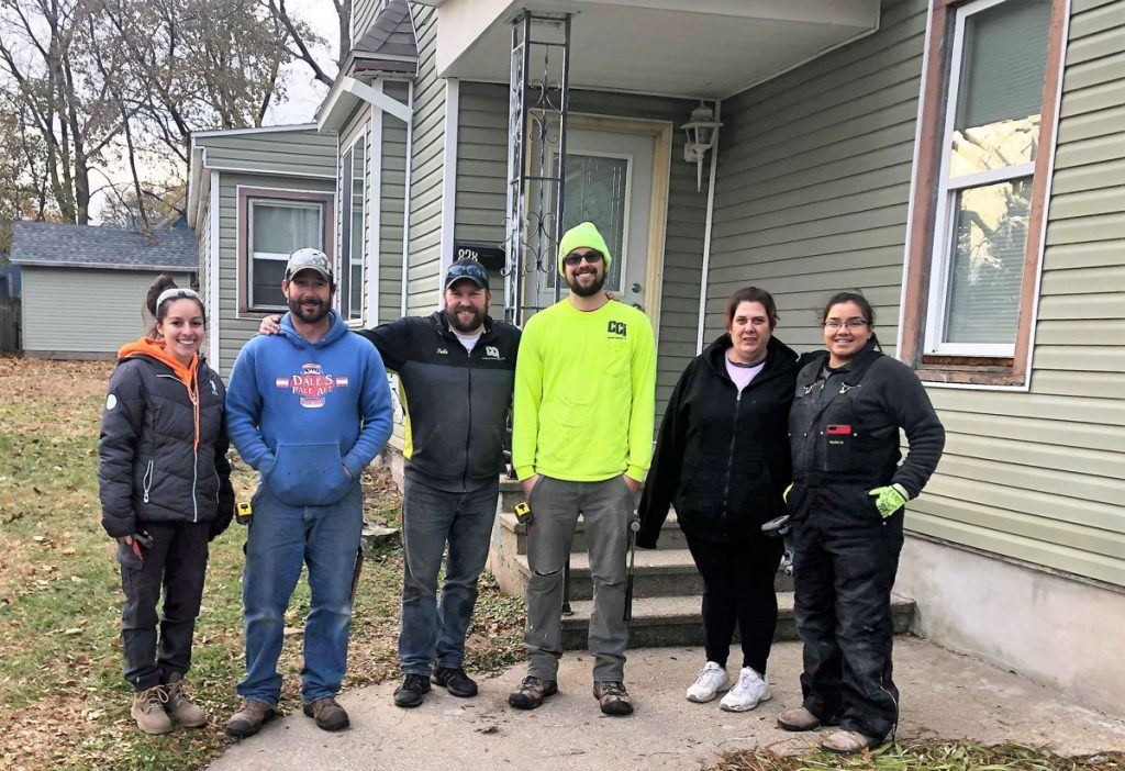 CCI Volunteers Time and Talents for New Acts Housing Homeowner Repairs