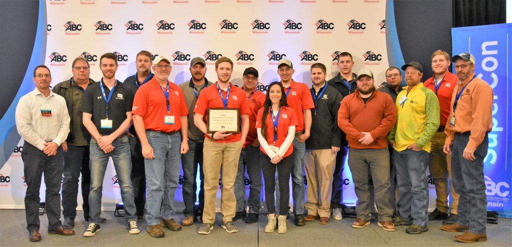 CCI Receives No Lost Time Accident Award