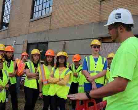CCI Cares: Student Job Site Tour