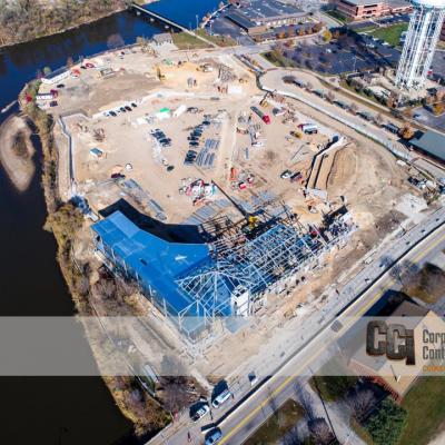 CCI constructs ABC Supply Stadium