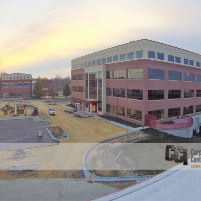 CCI constructed the ABC Supply, NSC 2 Office Building, Beloit, WI