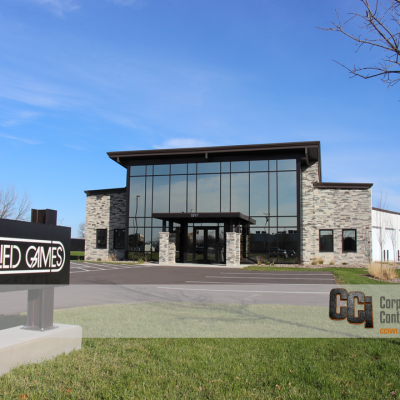 CCI constructed the Allied Games facility, Beloit WI