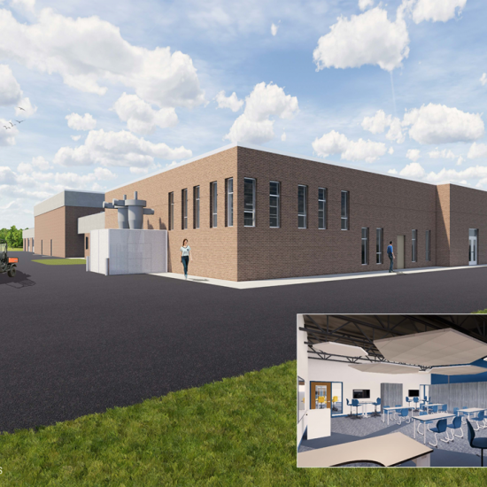 CCI constructed the Beloit Turner Middle School/High School STEAM addition, Beloit WI