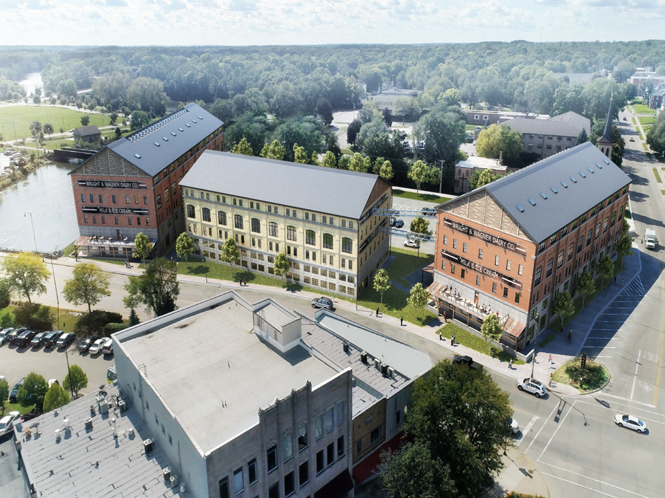 CCI constructs the Wright and Wagner Lofts in downtown Beloit, WI