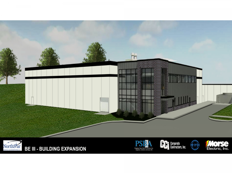 CCI constructs the NorthStar Electron Accelerator Production Building, Beloit, WI