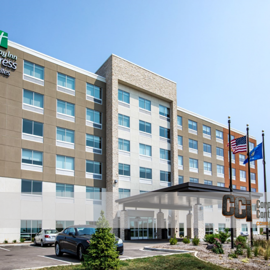 CCI constructed the Holiday Inn Express and Suites, Beloit, WI