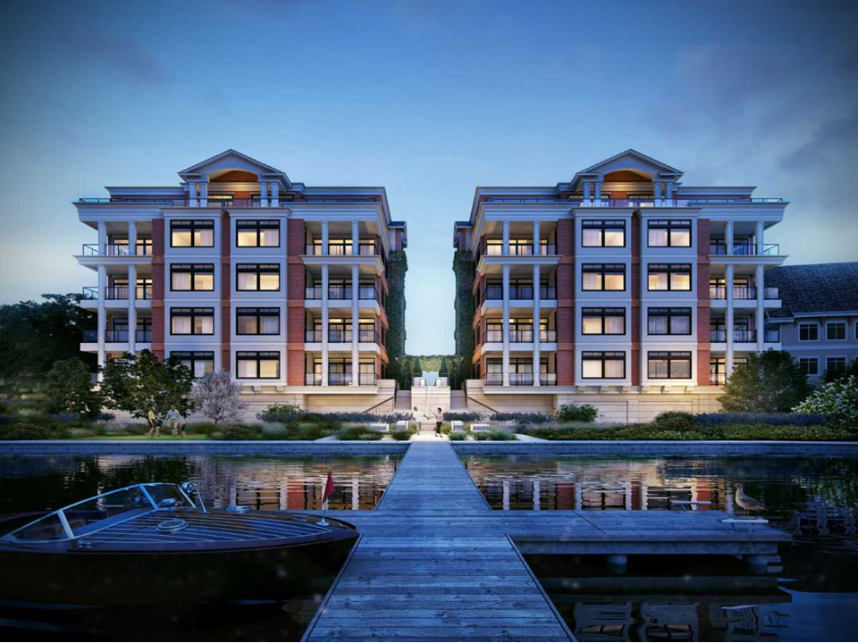 CCI constructed the luxury Parc on Lac LaBelle condominium complex along the lake in Oconomowoc, WI