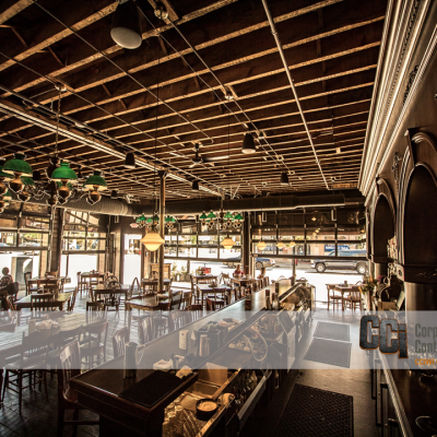 CCI renovated and built-out the truk't restaurant in downtown Beloit, WI