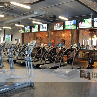 CCI renovated the be fitness facility, Delafield, WI