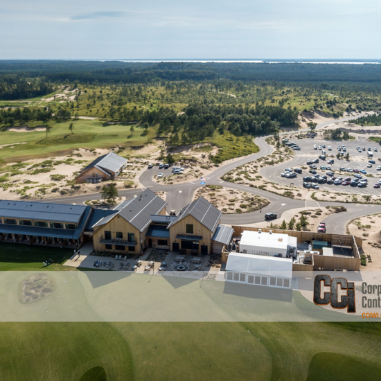 CCI constructed the Sand Valley Golf Resort Clubhouse and Lodge, Rome, WI