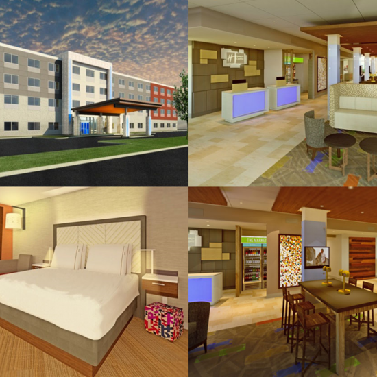 CCI renovated the Holiday Inn Express & Suites, Loves Park, IL