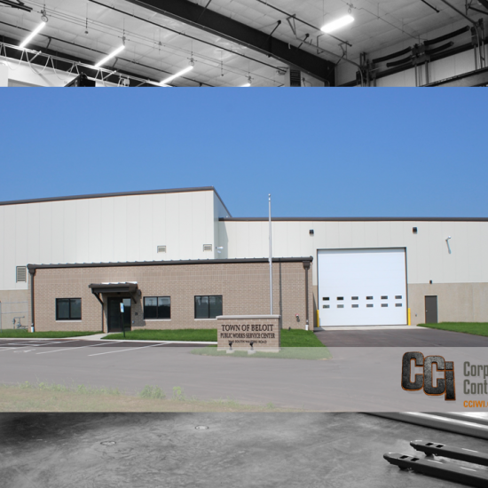 CCI constructed the Town of Beloit DPW facility, Beloit, WI