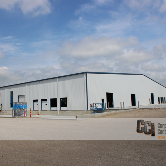 CCI constructed the Avid Pallet industrial facility, Beloit, WI