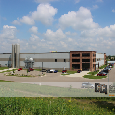 CCI constructed the Toledo Molding & Die industrial facility, Beloit, WI