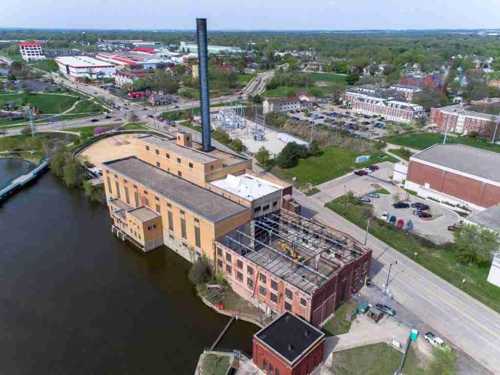 Beloit College Powerhouse, CCI Roofing