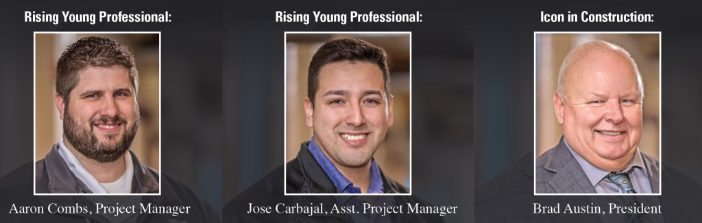 CCI's Rising Young Professionals and Icon in Construction
